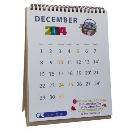 Calendar 6 450x450 - ปฏิทินตั้งโต๊ะ (Calendar)