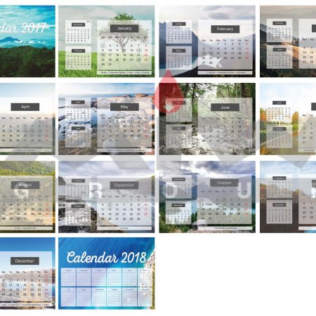 Template 01 450x450 - ปฏิทินตั้งโต๊ะ (Calendar)