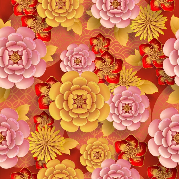 seamless pattern with japanese elements 38689 492 - เลือกซองอั่งเปาอย่างไรให้เหมาะสมกับผู้รับ