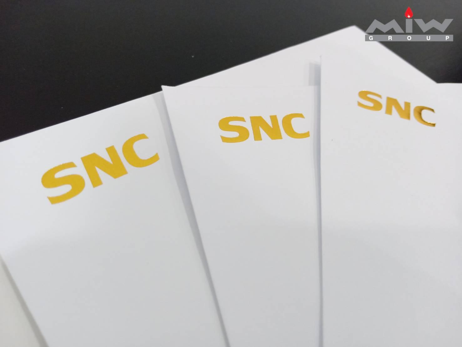 204352 - งานการ์ด SNC สวัสดีปีใหม่ 2563 พร้อมซอง