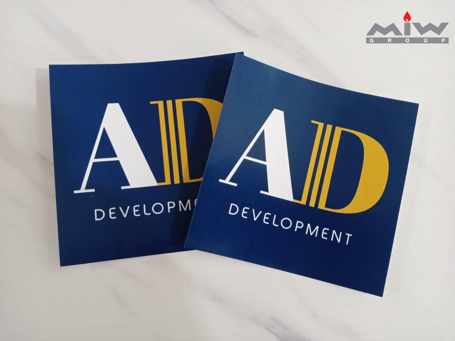 339579 - งานสติ๊กเกอร์ AD Development